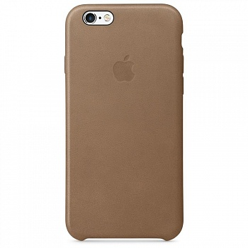 Apple iPhone 6s Leather Case - Brown MKXR2 - ITMag