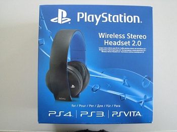 Sony Gold Wireless Stereo Headset Black - ITMag