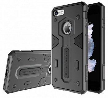 "TPU+PC чехол Nillkin Defender 2 для Apple iPhone 7 (4.7"") (Черный) - ITMag"