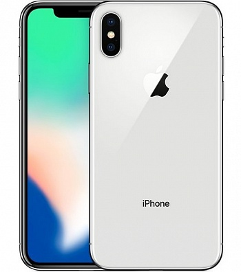 iPhone X 64GB Silver - ITMag