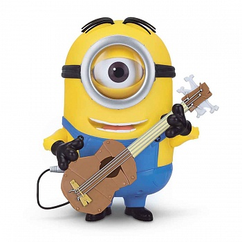 Интерактивная игрушка Minions Stuart Interacts with Guitar - ITMag