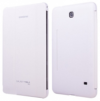 Чехол Samsung Book Cover для Galaxy Tab 4 8.0 T330/T331 White - ITMag