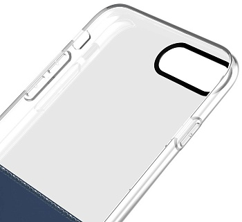 Чехол Baseus Half to Half Case For iphone7 Plus Dark Blue (WIAPIPH7P-RY15) - ITMag