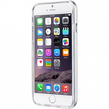 Бампер LAUT EXO-FRAME Aluminium bampers для iPhone 6 Plus/6S Plus - Silver (LAUT_IP6P_EX_SL) - ITMag