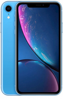 Apple iPhone XR Dual Sim 128GB Blue (MT1G2) - ITMag