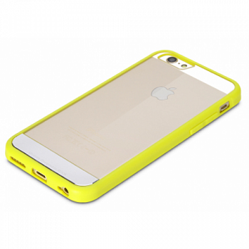 "TPU+PC чехол Rock Enchanting Series для Apple iPhone 6/6S (4.7"") (Желтый / Yellow) - ITMag"
