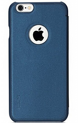 "Чехол (книжка) Rock Rapid Series для Apple iPhone 6/6S (4.7"") (Синий / Dark Blue) - ITMag"