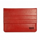Чехол OATSBASF Genuine Leather для Macbook Air/Pro 13.3 (Red/Красный) - ITMag