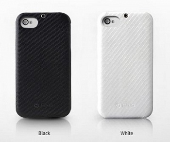 Накладка Zenus Carbon для Apple iPhone 4 (Белый) - ITMag