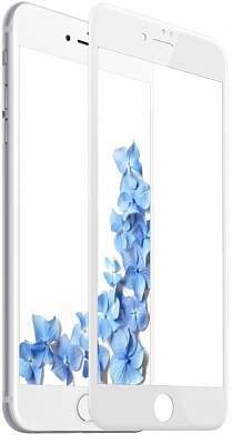 Защитное стекло Baesue 0.23 PET Soft 3D Tempered Glass Film White (SGAPIPH7-PE02) - ITMag