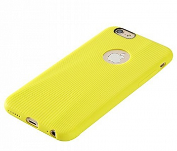 "TPU чехол Rock Melody Series для Apple iPhone 6/6S (4.7"") (Желтый / Yellow) - ITMag"