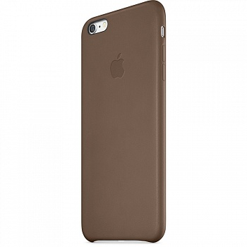 Apple iPhone 6 Plus Leather Case - Olive Brown MGQR2 - ITMag