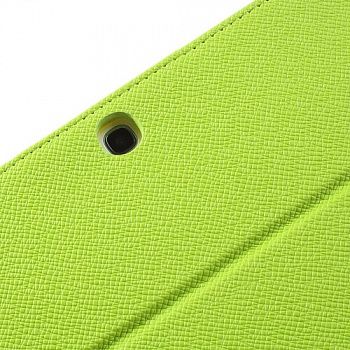 Чехол EGGO двухцветный Leather Stand Case for Samsung Galaxy Tab 3 10.1 P5200/P5210 (Yellow / Green) - ITMag