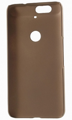 Чехол EGGO Rubberized Plastic для Huawei Nexus 6P (Золотой/Champagne) - ITMag