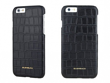 Чехол Bushbuck BARONAGE CAIMAN Genuine Leather for iPhone 6/6S (Black) - ITMag