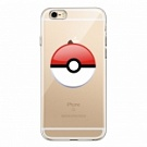 TPU чехол EGGO Pokemon Go Poke Ball для iPhone 6 Plus/6S Plus (Red) - ITMag