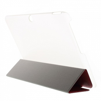 Чехол EGGO Lines Texture Leather Flip Case Stand для Acer Iconia Tab 10 A3-A20 (Красный / Red) - ITMag