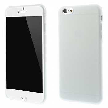 Антискользящий TPU чехол EGGO для iPhone 6 Plus/6S Plus - Transparent - ITMag