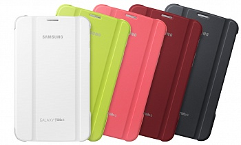 Чехол Samsung Book Cover для Galaxy Tab 3 7.0 T210/T211 Pink - ITMag