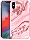 Чехол LAUT MINERAL для iPhone XS - Pink Mramor (LAUT_IP18-S_MG_MP) - ITMag