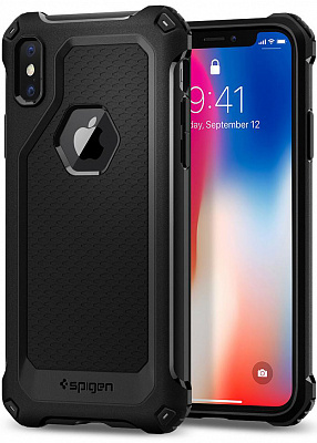 Spigen Case Rugged Armor Extra for iPhone X black (057CS22154) - ITMag