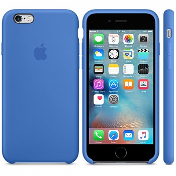 Apple iPhone 6s Silicone Case - Royal Blue MM632 - ITMag