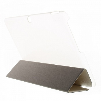Чехол EGGO Lines Texture Leather Flip Case Stand для Acer Iconia Tab 10 A3-A20 (Белый / White) - ITMag