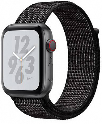 Apple Watch Nike+ Series 4 GPS + LTE 40mm Gray Alum. w. Anthracite/Black Nike Sport b. Gray Alum. (MTX92) - ITMag