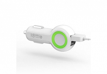 iOttie Rapid Volt Dual Port USB Car Charger White (CHCRIO101WH) - ITMag