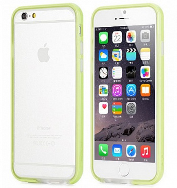 "Бампер ROCK Duplex Slim Guard для Apple iPhone 6/6S (4.7"") (Зеленый / Green) - ITMag"