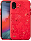 Чехол LAUT FLORA для iPhone XR - Blue (LAUT_IP18-M_FL_R) - ITMag