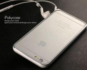 "Чехол iPaky Metal Joint Series для Apple iPhone 6/6s (4.7"") (Серебряный) - ITMag"