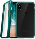 Чехол LAUT ACCENTS для iPhone X - Green (LAUT_IP8_AC_GN) - ITMag