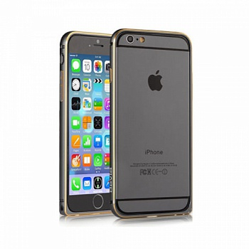 Бампер Devia для iPhone 6 Plus/6S Plus Buckle Curve Gun Black - ITMag