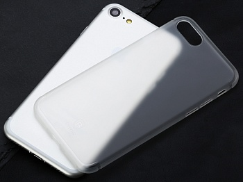 Чехол Baseus Slim Case For iphone7 Transparent White (WIAPIPH7-CT02) - ITMag