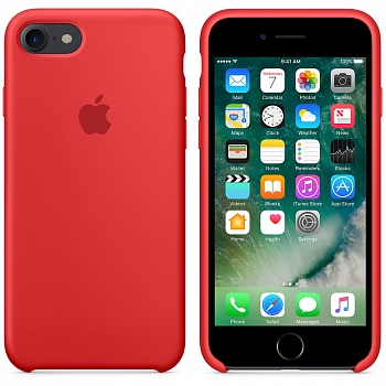 Apple iPhone 7 Silicone Case - (PRODUCT)RED MMWN2 - ITMag