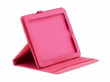 Ozaki iCoat Versatile Horizontal Pink for iPad 4/iPad 3/iPad 2 (IC890HPK) - ITMag