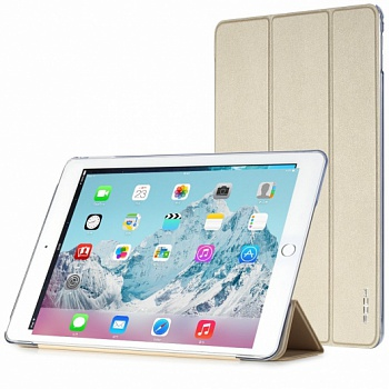 Чехол (книжка) Rock Touch series для Apple iPad Air 2 (Золотой / Gold) - ITMag