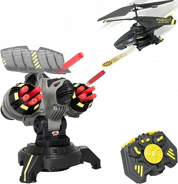 Air Hogs - Battle Tracker with Yellow Disc Firing Helicopter - ITMag