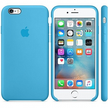 Apple iPhone 6s Silicone Case - Blue MKY52 - ITMag