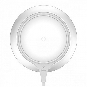 Baseus Metal Wireless Charger Silver + white (WXJS-S2) - ITMag