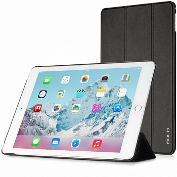 Чехол (книжка) Rock Touch series для Apple iPad Air 2 (Черный / Black) - ITMag