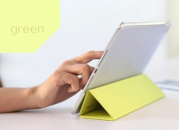 Чехол (книжка) Rock Touch series для Apple iPad Air 2 (Зеленый / Green) - ITMag