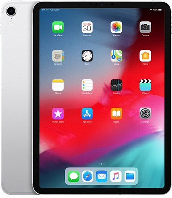 Apple iPad Pro 11 2018 Wi-Fi + Cellular 512GB Silver (MU1M2, MU1U2) - ITMag