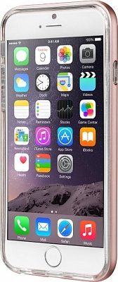 Бампер LAUT EXO-FRAME Aluminium bampers для iPhone 6/6S - Rose Gold (LAUT_IP6_EX_RG) - ITMag