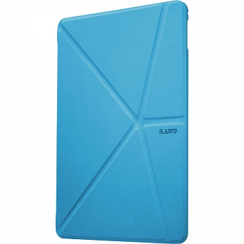 LAUT Origami Trifolio for iPad Air 2 Blue (LAUT_IPA2_TF_BL) - ITMag