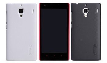 Чехол Nillkin Matte для Xiaomi Hongmi Red Rice/ Redmi 1S (+ пленка) (Черный) - ITMag