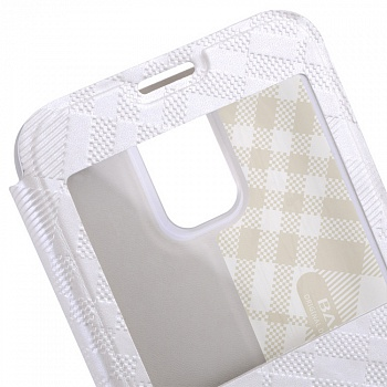 Чехол Baseus Brocade II Series для Samsung Galaxy S5 G900F View Window White - ITMag
