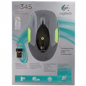 Logitech M345 Wireless Mouse (Lime) - ITMag