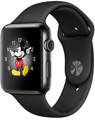 Apple Watch Series 2 42mm Space Black Stainless Steel Case with - Space Black Stainless Steel (MP4A2) - ITMag